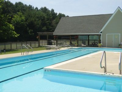 Children and adults alike will love the community  pool, with covered pavilion