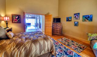 "Kailua Kona house photo - The large third bedroom features a queen size bed and 32"" flat panel LED TV."