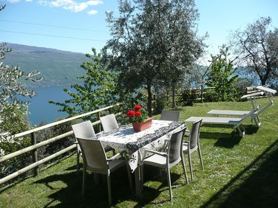 Holiday away from mass tourism: Casa Bellavista m. wide lake view in the countryside