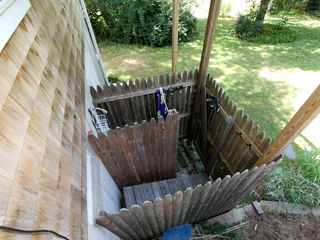Brewster house photo - Outdoor shower - a Cape Cod must to wash off salt after a long day at the beach.