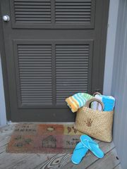 Kiawah Island villa photo - Plenty of towels, beach bags, beach chairs, and toys for your enjoyment