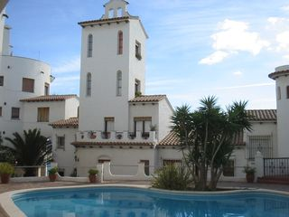 Sitges Town apartment photo - Apt3-LIGHTHOUSE:.Outside view and pool