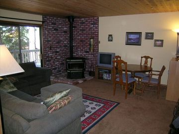 "Family room downstairs need to update photo new TV is 47"" flatscreen"