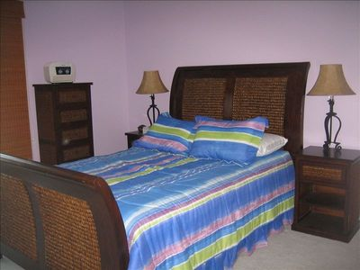 Vacation Homes in Ocean City townhome rental - Master Bedroom - Cozumel