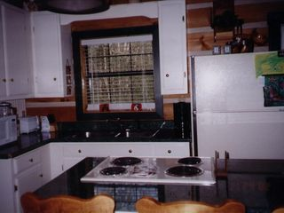 Fall Creek Falls cabin photo - Fully equipped kitchen at the Hemlock Haven