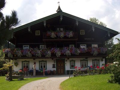 2 holiday apartments per 2 bedrooms u. 2 baths each / Chiemgau map partner  - Appartement 'In der Tenne'