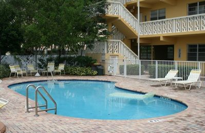 Fort Lauderdale condo rental - Community pool on the Middle river