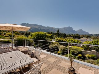 Constantia villa photo - Sundowner Top Deck with 180 deg Views