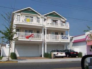 Front of Condo. We are on the right side, lower unit. - Wildwood condo vacation rental photo
