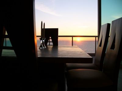 Elegant Dining With Panoramic Sunset Views