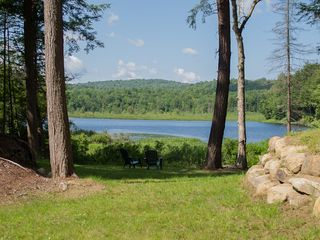 Piseco Lake cabin photo - Great Water Views from Private 2 Acre Property