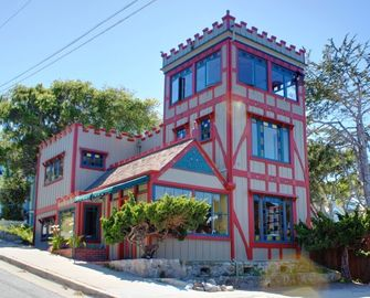 "Pacific Grove house rental - Welcome to ""Captain's Castle""! Almost Oceanfront. Stunning Panoramic Ocean Views. Beautifully Restored Historic Home. Pet Friendly!"
