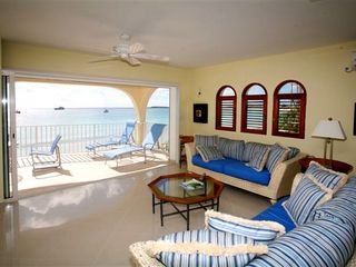 Simpson Bay condo photo - Sliding doors fold into wall for an outstanding view