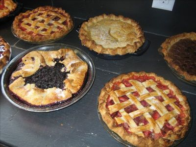 Your favorite pie ready for you when you arrive!