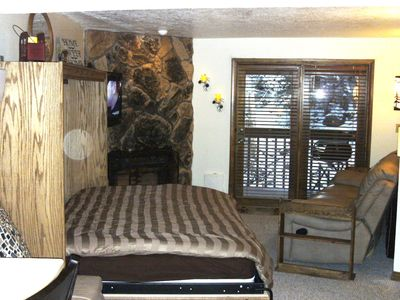 Murphy bed with plush pillowtop matress