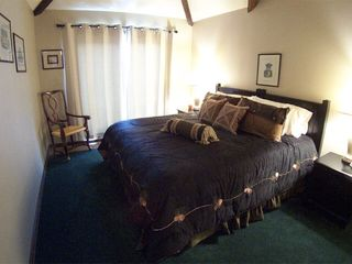 Durango condo photo - Upstairs master suite, king bed, private balcony, full bath, walk in closet