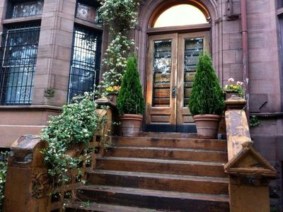 Central Park North townhome rental - Entrance