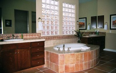 Boulders Scottsdale house rental - Master Bath (includes huge walk in shower, not shown).