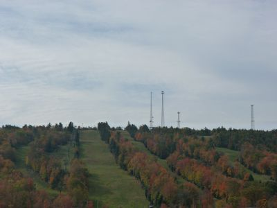 Fall Foliage Pictures in October of Big Boulder Ski Area.