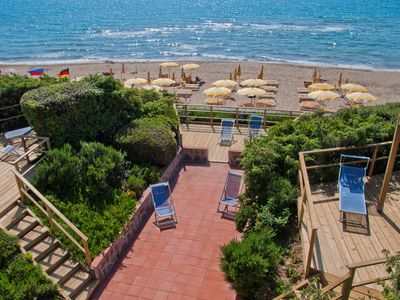 apartment/ flat directly on the beach - 2-3 rooms - 4/6 persons