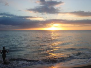 Isla Verde apartment photo - Come and enjoy the amazing sunset of the Isla Verde beach