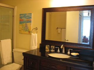 Indian Harbour Beach condo photo - Large master bath
