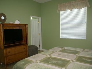 Cape Coral house photo - Master Bedroom with 32 inch LCD TV