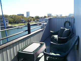Atlantic City apartment photo - COOK-OUT ON THE DECK/GREAT VIEW MISSING...REVEL IN THE DISTANCE NEW PIX TO COME