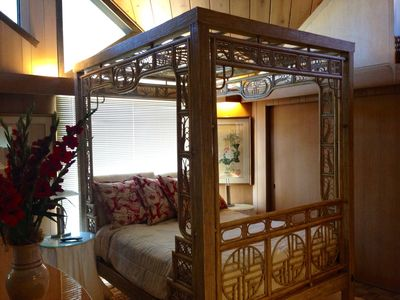 Bedroom 3 with Canopy Bed.