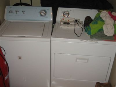 Washer Dryer Available