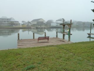 Rockport house photo - Private fishing pier/boat dock with cleaning station, right in your back yard!