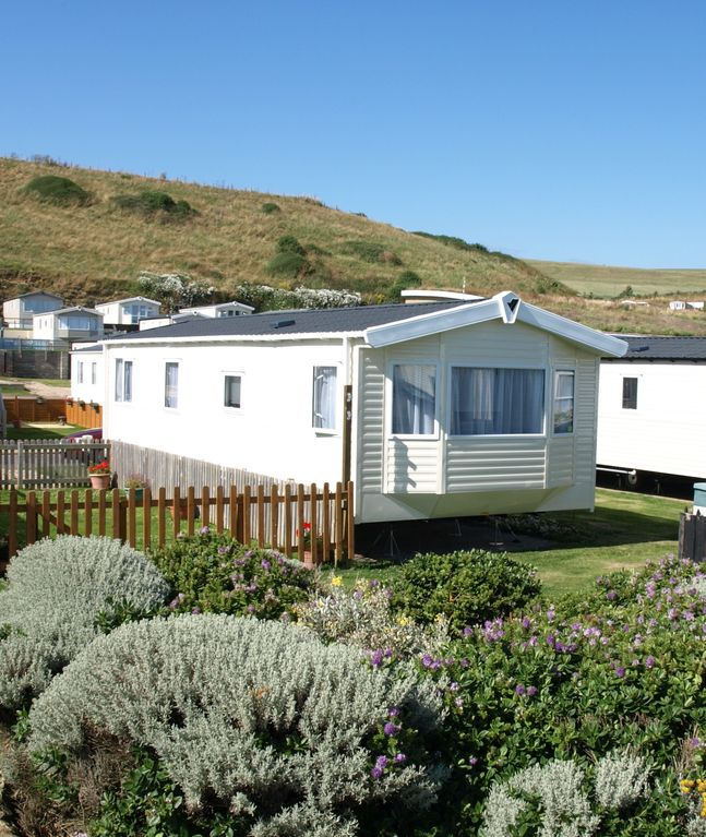 Two Bedroom Caravan (sleeps 6) Burton Bradstock, Dorset. New for 2016.