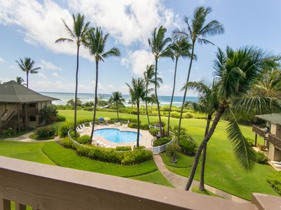 The beautiful Kaha Lani from your Lanai !! Sunshine and cool ocean breezes !!