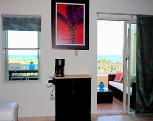Humacao studio photo - Ocean view from living area