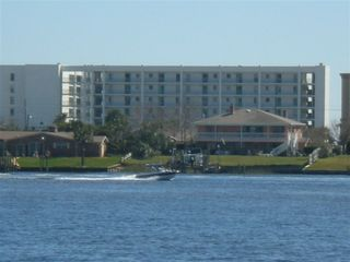 Okaloosa Island condo photo - Photo of Emerald Isle from bay side