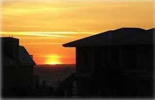 Navarre Beach house photo - Recent Sunset from the deck