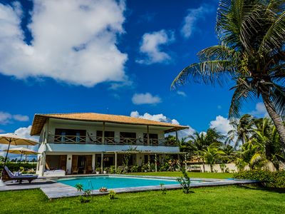 VILA CLARA - LUXURY HOUSE WITH SWIMMING POOL IN FRONT OF THE BEACH