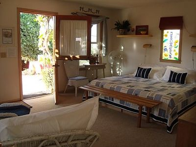La Mesa cottage rental - KING SIZE BED
