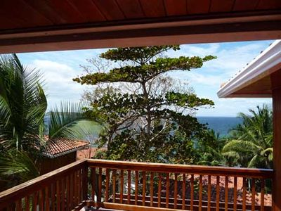 Contadora Villa 24 - view of the ocean from the upper balcony