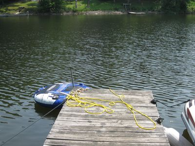Mayfield house rental - Dock to Swim off or park a boat at (docking fee applies if applicable)
