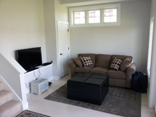 Saugatuck / Douglas condo photo - Rec room with sleeper sofa, blacony, and full bath