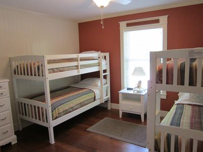 2 sets of bunks and TV w/ DVD