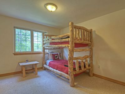 Kids Bedroom, they love the bunkbeds