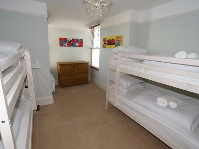 Bude house rental - Bunk bed room