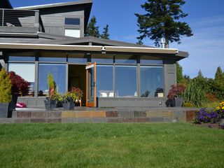 Bainbridge Island house photo - Slate Deck with views from Mt. Baker to Century Link Stadium. Seattle View!!