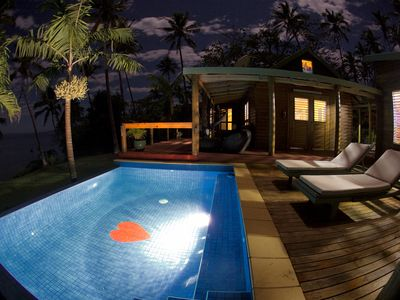 image for Romantic Oceanfront Home, private infinity pool and gardens