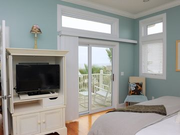 Master Bedroom balcony with ocean views.