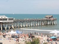New Low Price! Ground Floor by Cocoa Beach Pier, Direct Ocean!