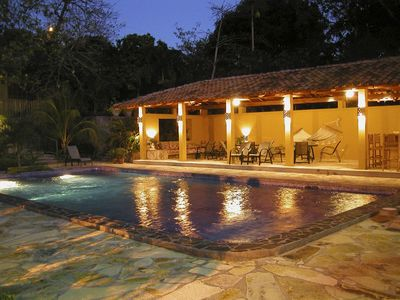San Juan del Sur condo rental - It's Happy Hour at Madeleine's Place