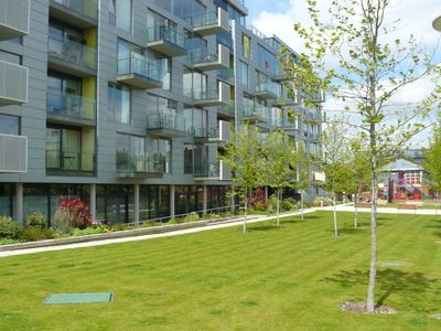 Islington apartment rental - Shared waterside garden